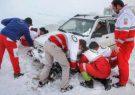 نجات 49خودروی گرفتار در برف در ییلاقات ماسال