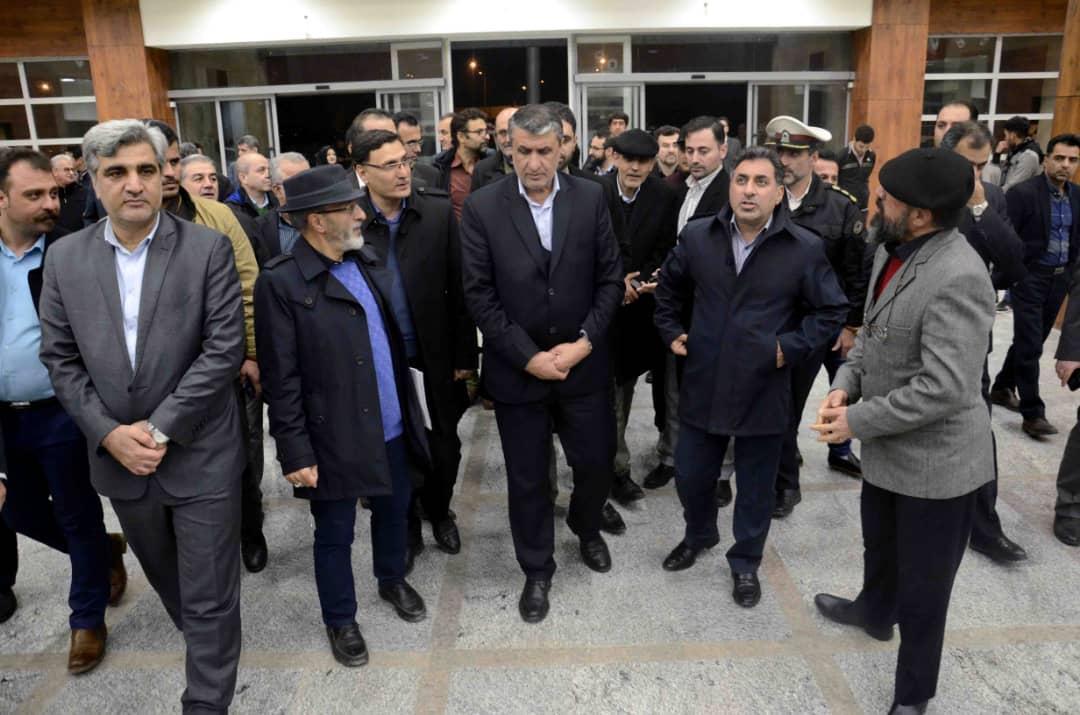 گزارش تصویری سفر وزیر راه به گیلان