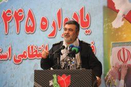 گزارش تصویری یادوراه 445 شهید فرماندهی انتظامی گیلان