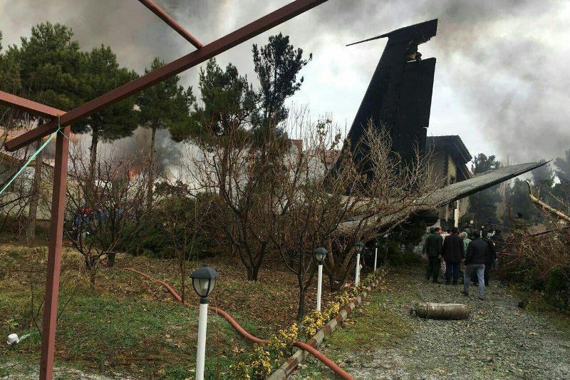 اعزام 8 تیم ارزیاب به محل سقوط هواپیما