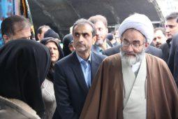 گزارش تصویری برپایی میز خدمت دستگاه های اجرایی گیلان در نمایشگاه دستاوردهای انقلاب اسلامی
