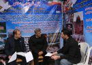 دیدار مردمی مدیرکل میراث فرهنگی گیلان در چهارمین روز از برگزاری نمایشگاه دستاوردهای انقلاب