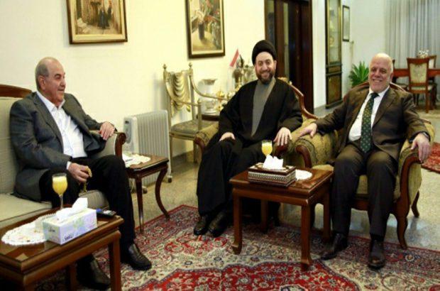 حکیم، علاوی و عبادی خواستار پایان بن بست سیاسی در عراق شدند