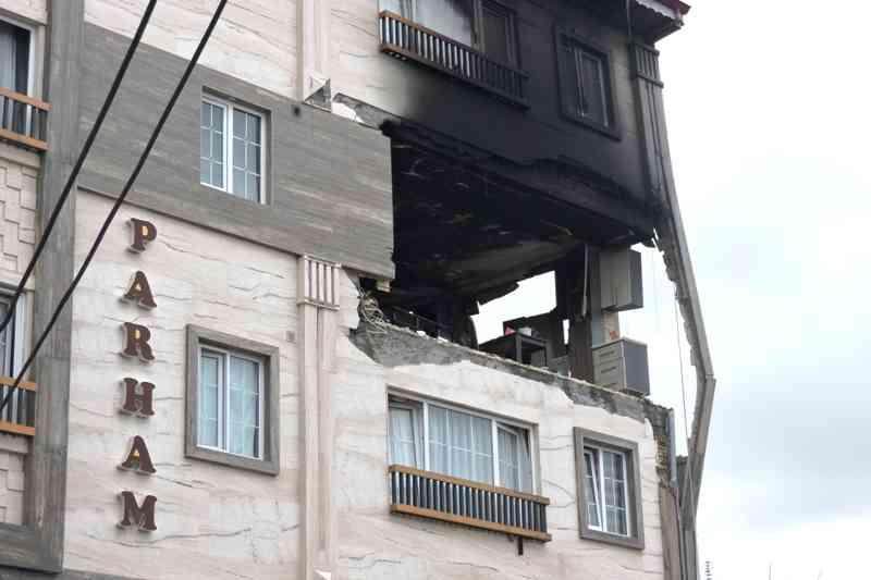 ماجرای انفجار یک واحد آپارتمانی در صومعه سرا
