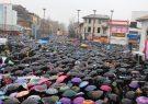 اعلام مسیرهای پنجگانه راهپیمایی یوم الله ۲۲ بهمن در شهر رشت