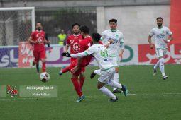 گزارش تصویری دیدار تیم های سپیدرود رشت و ماشین سازی تبریز
