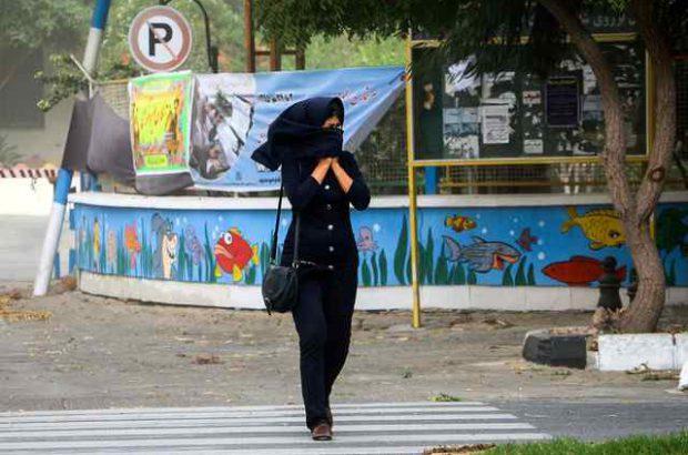وزش باد و استقرار هوای ناپایدار در گیلان