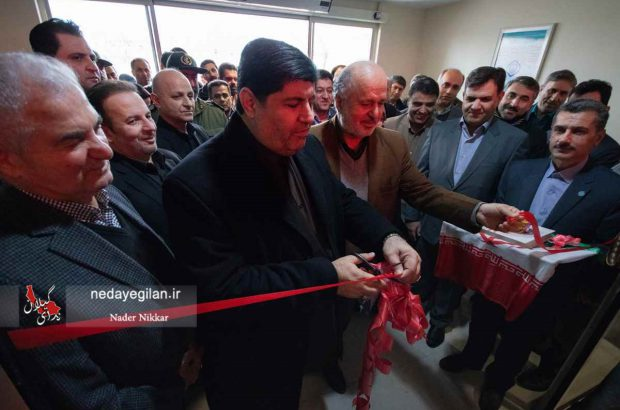 افتتاح 4 طرح هادی روستایی،یک مرغداری و ساختمان تامین اجتماعی در انزلی