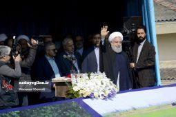 گزارش تصویری دیدار رئیس جمهور با مردم شهرستان لاهیجان