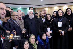 گزارش تصویری جلسه شورای اداری گیلان و نشست خبری رئیس جمهور