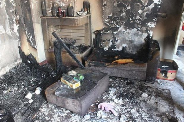 آتش سوزی یک ساختمان در سبزه میدان رشت ۴ کشته و زخمی برجای گذاشت