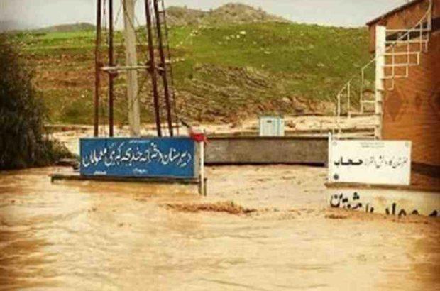 اعزام ماشینآلات شهرداری رشت به مناطق سیل زده