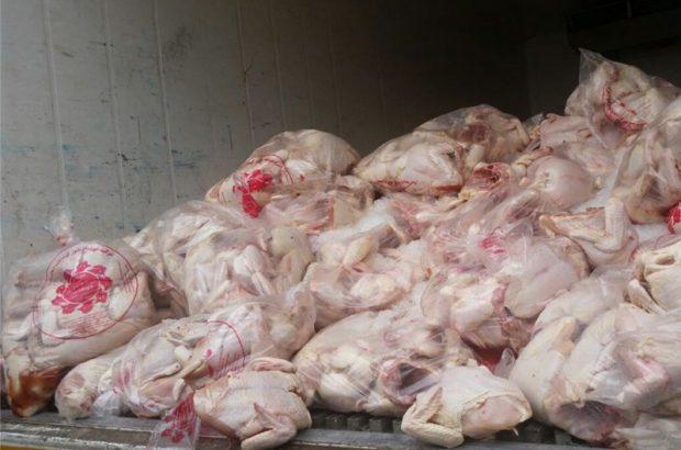 کشف و ضبط 3 تن مرغ بدون مجوز در آستارا