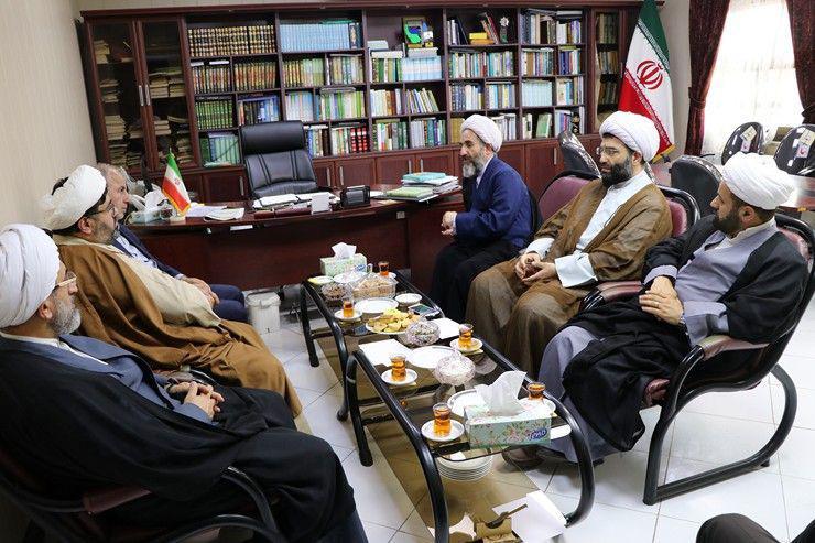 دیدار جمعی از مدیران استان با مدیر کل تبلیغات اسلامی استان گیلان+تصاویر
