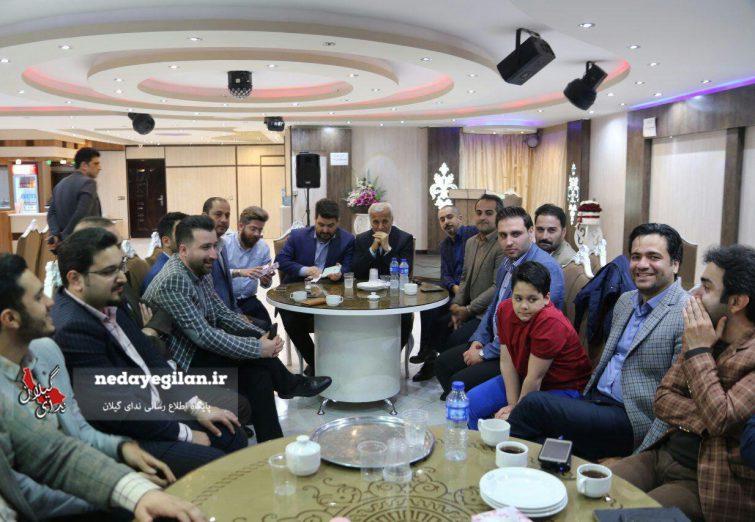 دیدار جمعی از جوانان اصلاح طلب و اعتدالی با رییس مجمع نمایندگان گیلان