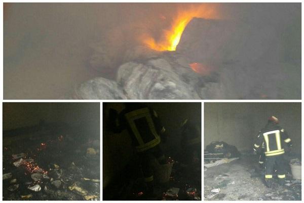 آتش سوزی دانشگاه آزاد رشت خسارت جانی نداشت