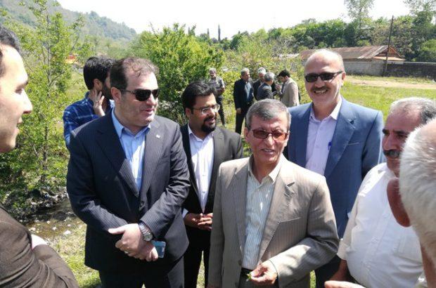 نشست مدیرعامل شرکت آب منطقه ای استان گیلان با فرماندار املش