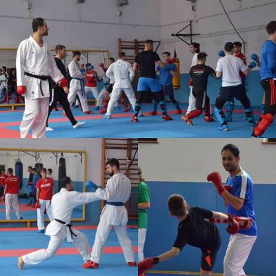 استاژ فنی کاراته توسط مربی گیلانی تیم ملی در مجارستان