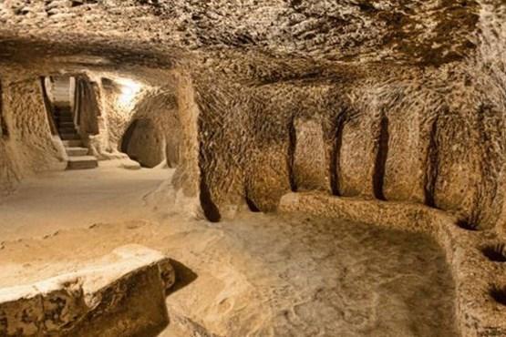 تایید وجود سازه های زیرزمینی باستانی در جیرنده/عمر سازه ها احتمالا به پیش از اسلام باز میگردد
