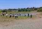 رفع تصرف حدود ده هزار متر مربع از اراضی بستر رودخانه ها در  تالش