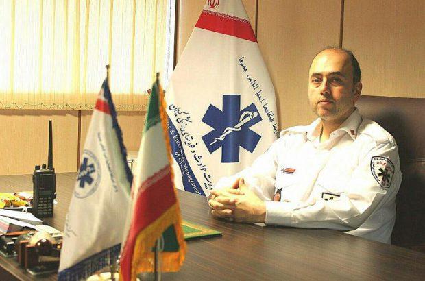 خدمت رسانی اورژانس گیلان با ۱۳۰ آمبولانس ،یک بالگرد و کمبود نیروی انسانی/در اوج کرونا روزی ۴۰۰ ماموریت داشتیم