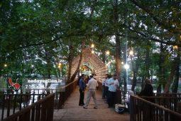 گزارش تصویری افتتاح  پارک جنگلی و آبی توسکا لنگرود