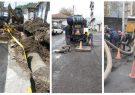 هزینه  سه ونیم میلیارد ریالی در بخش تعمیرو نگهداری شبکه فاضلاب سنتی آبفای انزلی