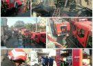 آتش سوزی یک خانه ویلایی در رشت