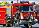 پوشش ۵۷ مورد حریق و حادثه توسط آتش نشانان شهر باران