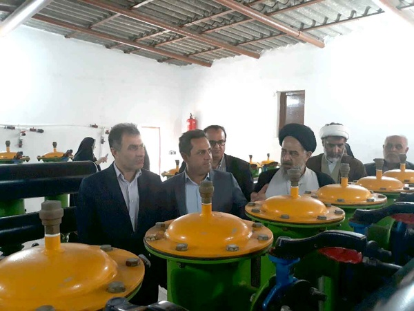 افتتاح طرح آبیاریتحت فشار مزارع نوین ایرانیان اتکا منجیل