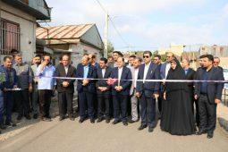گزارش تصویری افتتاحیه پروژه های بنیاد مسکن رشت همزمان با سومین روز از هفته دولت