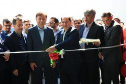 گزارش تصویری افتتاحیه شرکت تولیدی ریحان دانه زرین گیلان با حضور سرپرست استانداری گیلان