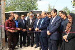گزارش تصویری افتتاح باشگاه ورزشی صدرا در روستای خان جان چهار دانگ با حضور فرماندار رشت