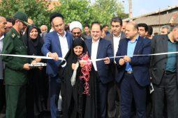 گزارش تصویری افتتاح پروژه های راه و شهرسازی رشت در دومین روز از هفته دولت