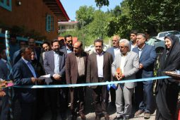 گزارش تصویری افتتاح طرح بوم گردی در روستای دیورش با حضور فرماندار رودبار و مدیر عامل صندوق کارآفرینی امید