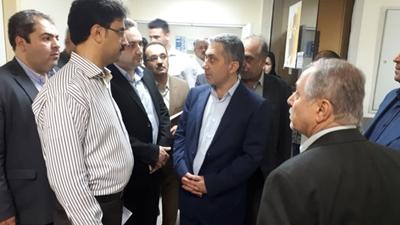 روند ارایه خدمات درمانی در بیمارستان شهید انصاری رودسر بررسی شد