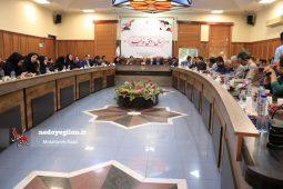 گزارش تصویری همایش تجلیل از خبرنگاران شهرستان رشت