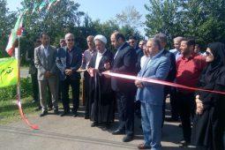 گزارش تصویری افتتاحیه پروژه های رضوانشهر همزمان با هفته دولت