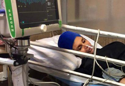 حمله مرد عاشق زن و بچه دار به خانم بدنساز تهرانی + عکس آرزو در بیمارستان