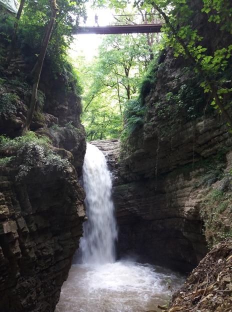 آبشار ویسادار پرهسر گیلان در فهرست آثار طبیعی ملی ایران قرار گرفت