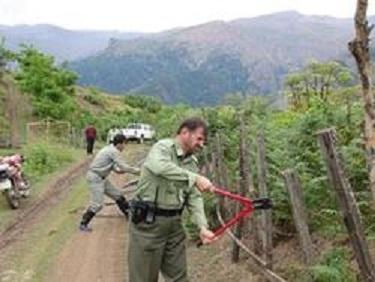 رفع تصرف زمین های ملی در ۲ شهر گیلان