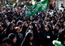 تجمع بزرگ عاشوراییان در پیاده راه فرهنگی رشت