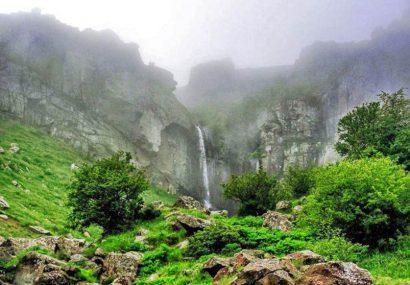 ثبت آبشار ورزان در فهرست آثار ملی ایران
