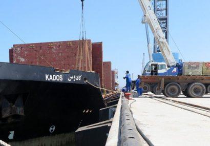 رونق کریدور چین، قزاقستان، ایران با ورود بیستمین کشتی به مجتمع بندری کاسپین