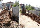 توسعه شبکه آب در شهر رضوانشهر