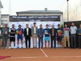 گیلان قهرمان مسابقات تنیس مردان کشور شد