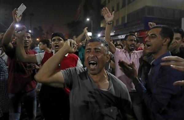 ۶۵۰ نفر در تظاهرات علیه عبدالفتاح السیسی بازداشت شدند