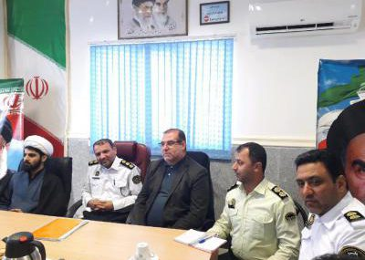 معرفی رئیس جدید پلیس راهور شهرستان سیاهکل