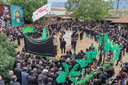 فیلم مراسم روز عاشورای حسینی در لنگرود