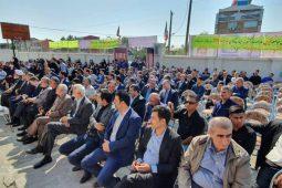 گزارش تصویری افتتاح دبستان زنده یاد سید رضا فلاح علیدوست در رودبنه